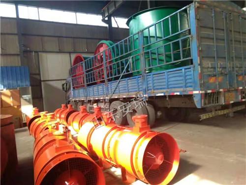 煤矿专用FBDNo7.1/2×37低噪音防爆通风机