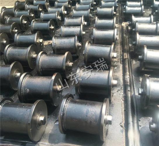 煤矿车牵引绳减少磨损必备地滚轮价格