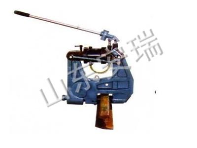 KKY-1050铁路用液压挤孔机保养维护,安瑞钢轨打孔机