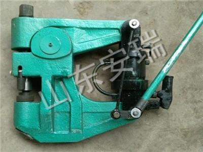 铁路液压挤孔机生产厂家,轨道专用KKY300液压挤孔机