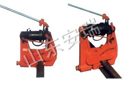 KKY-300液压打孔机使用方法,铁路钢轨挤孔机应用